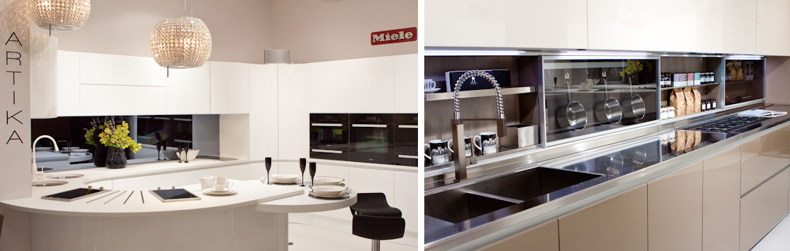 Kitchen design brands new showrooms dazzle south london for Italian kitchen brands