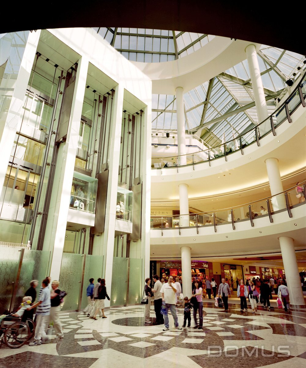 Marble Flooring Essex: Lakeside Shopping Centre Essex - Case Study