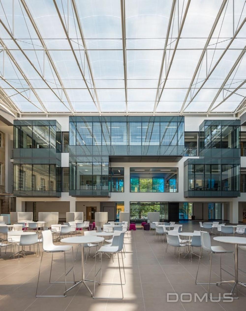 Trowbridge County Hall Case Study Domus Tiles The UK