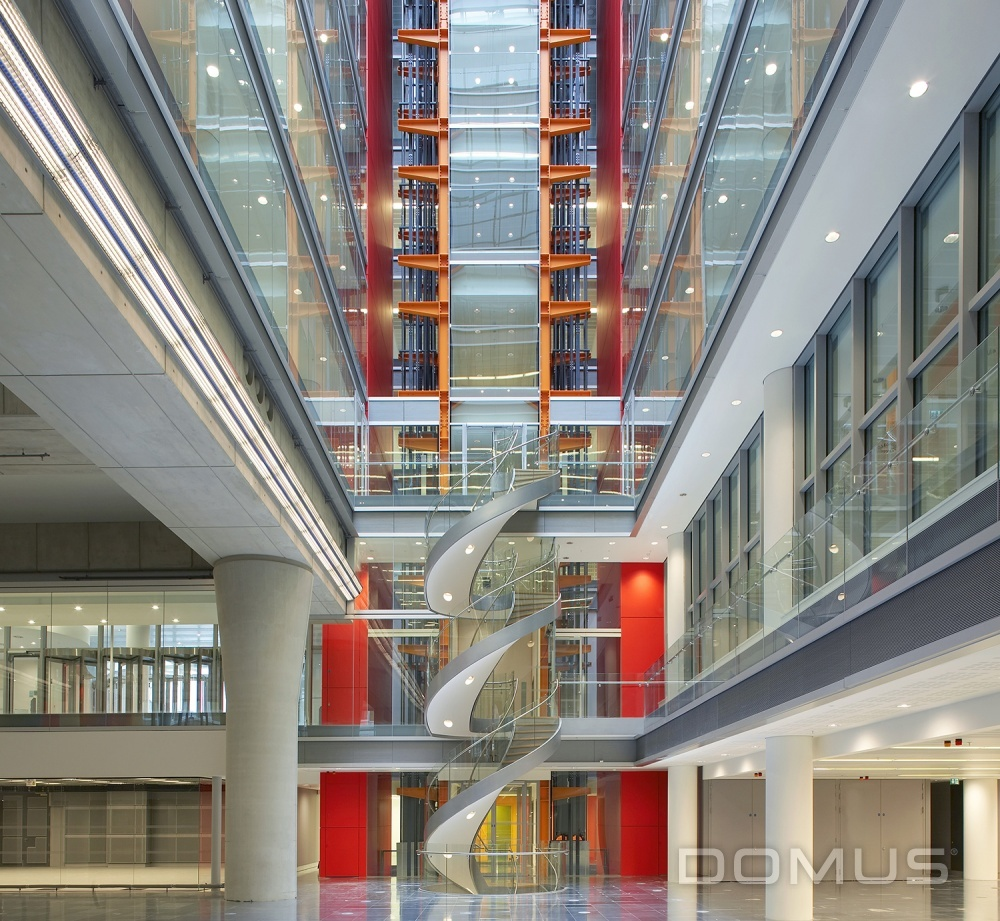 Bbc media cafe case study domus tiles the uk 39 s for Domus building cleaning
