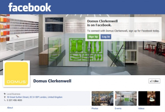 Like it on Facebook  Domus Tiles, The UK's Leading Tile