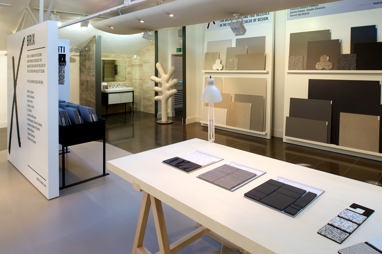 new showrooms dazzle south london - Interior Design Tiles Showroom