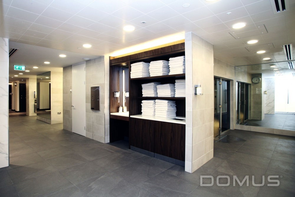 equinox gym kensington case study domus tiles the uk. Black Bedroom Furniture Sets. Home Design Ideas